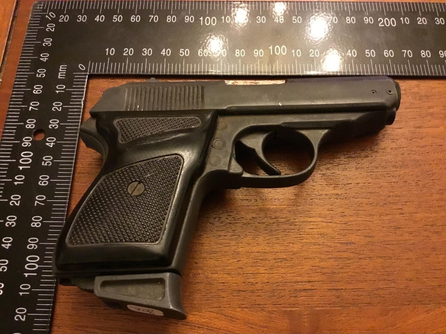 Pistolet  Police Pour Deco - Decorative Weapons