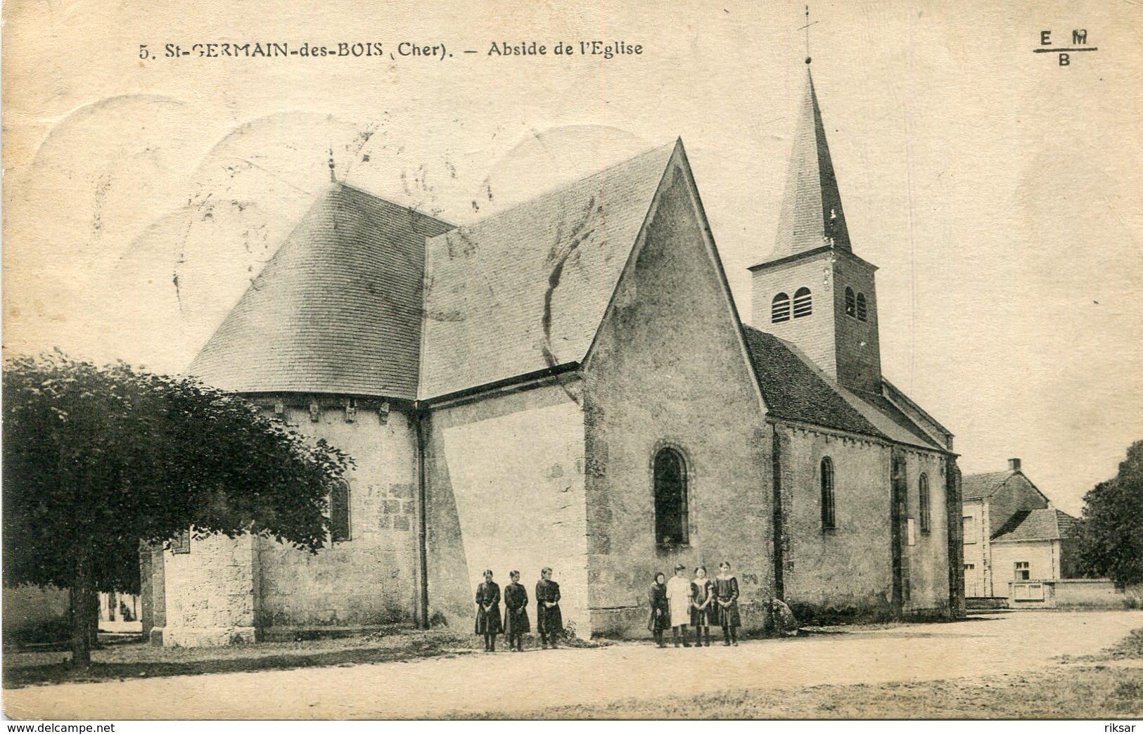 SAINT GERMAIN DES BOIS - Autres Communes