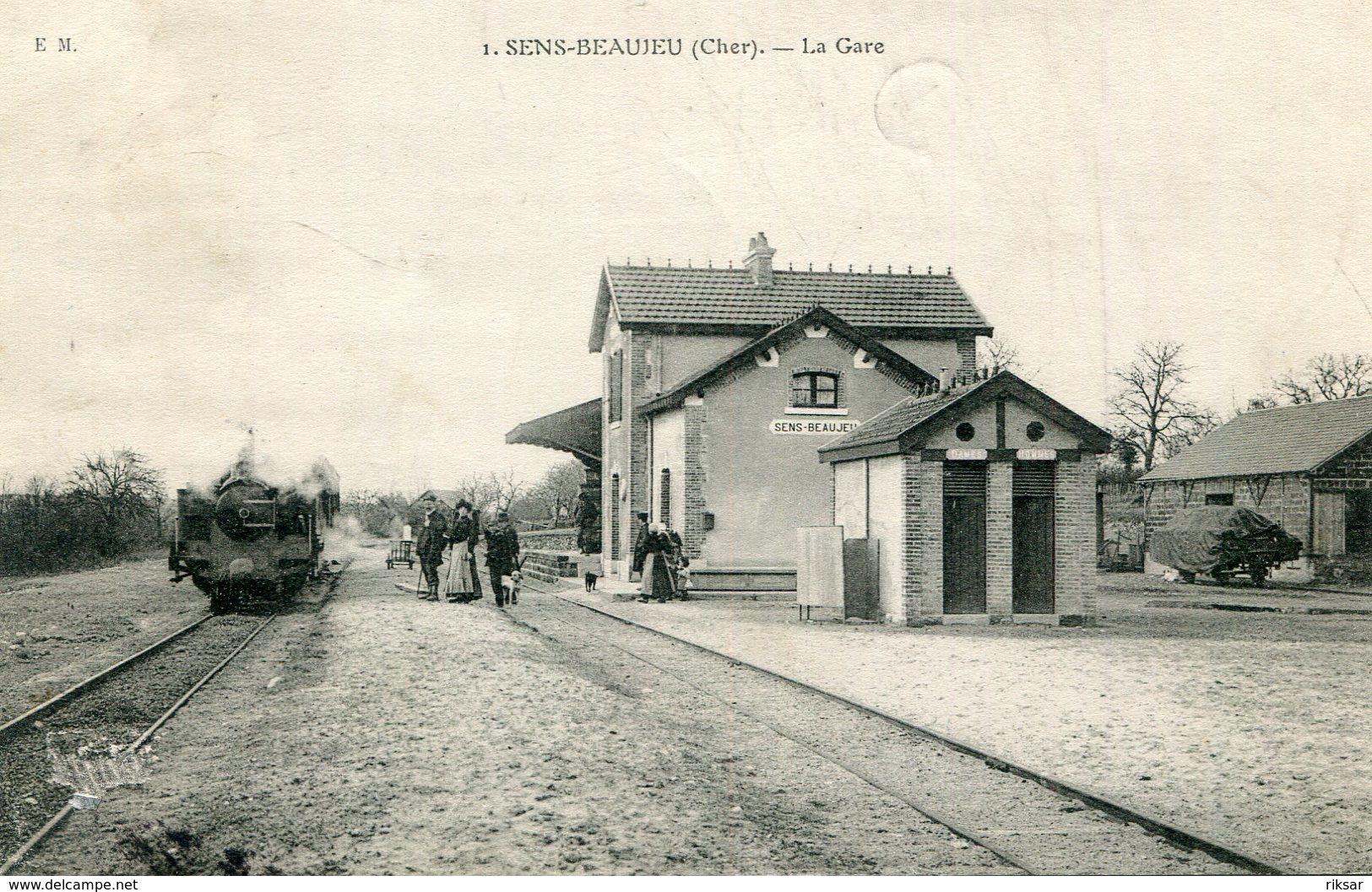 SENS BEAUJEU(GARE) TRAIN - Autres Communes