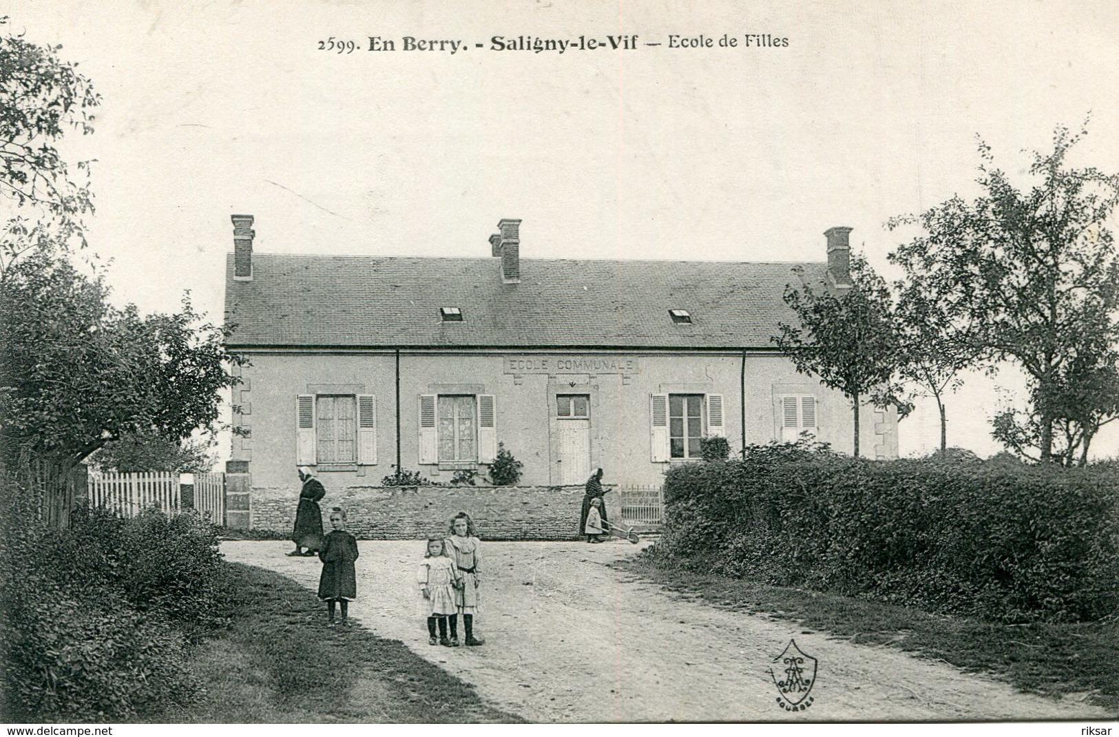 SALIGNY LE VIF(ECOLE) - Autres Communes