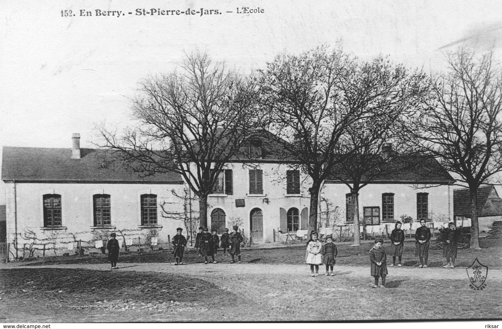 SAINT PIERRE DE JARS(ECOLE) ARBRE - Autres Communes