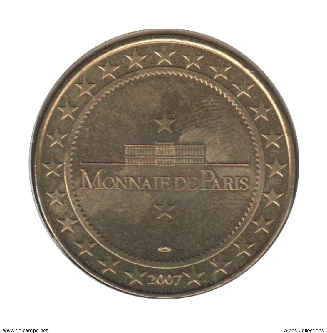 33001 - MEDAILLE TOURISTIQUE MONNAIE DE PARIS 33 - La Duna Du Pyla - 2007 - Monnaie De Paris