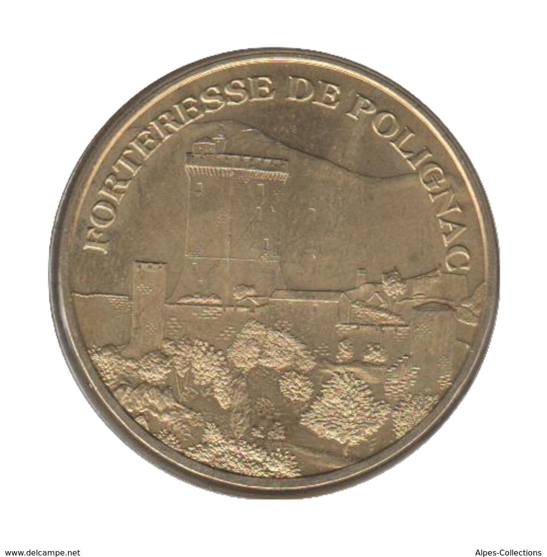 43006 - MEDAILLE TOURISTIQUE MONNAIE DE PARIS 43 - Forteresse De Polignac - 2007 - 2007