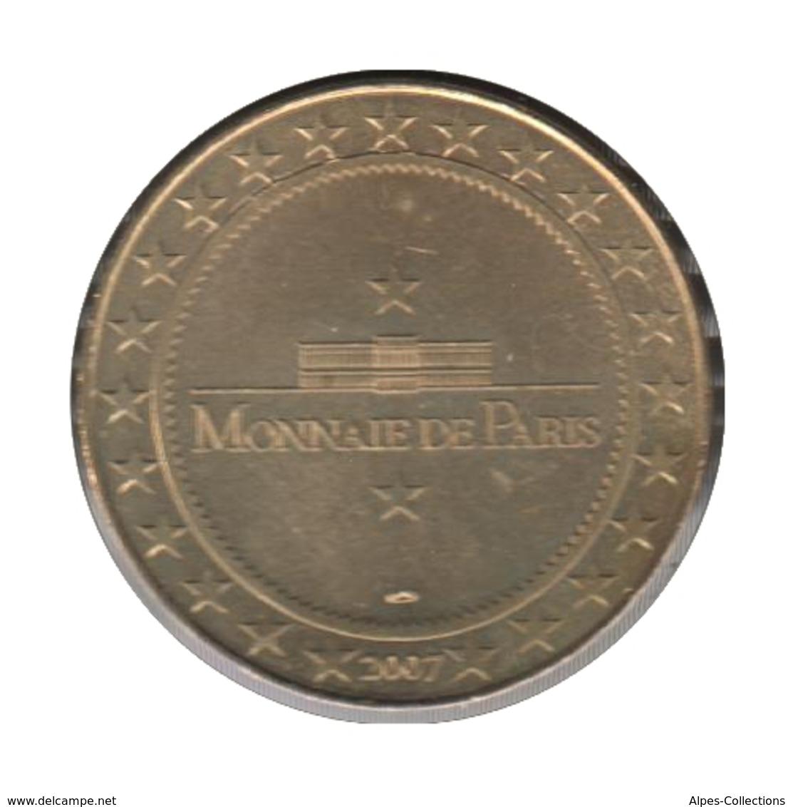 63021 - MEDAILLE TOURISTIQUE MONNAIE DE PARIS 63 - Abbatiale St Austremoine - 2007 - Monnaie De Paris