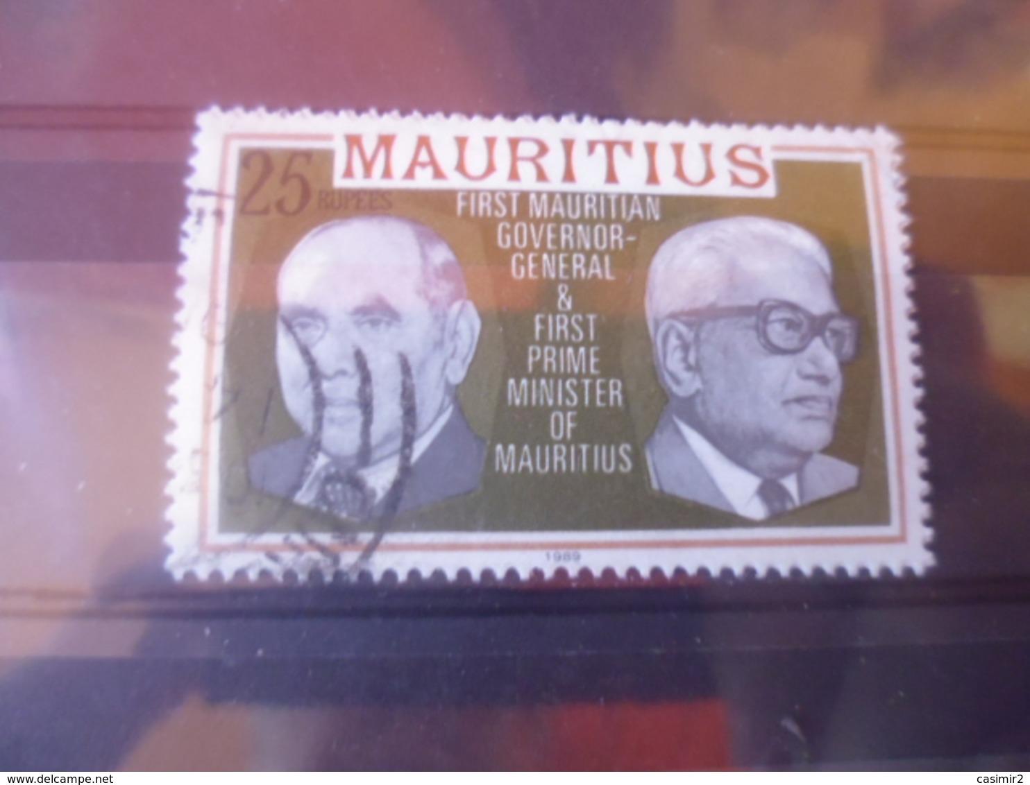 MAURICE YVERT N° -------- - Maurice (1968-...)