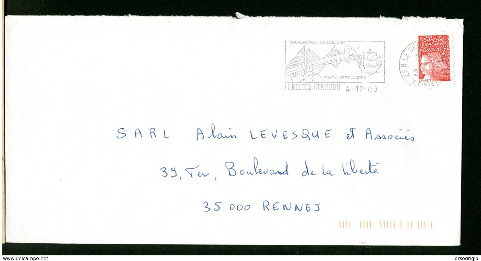 FRANCIA -  LE RELECQ KERHUON -  PONT ALBERT  LOUPPE - Bruggen
