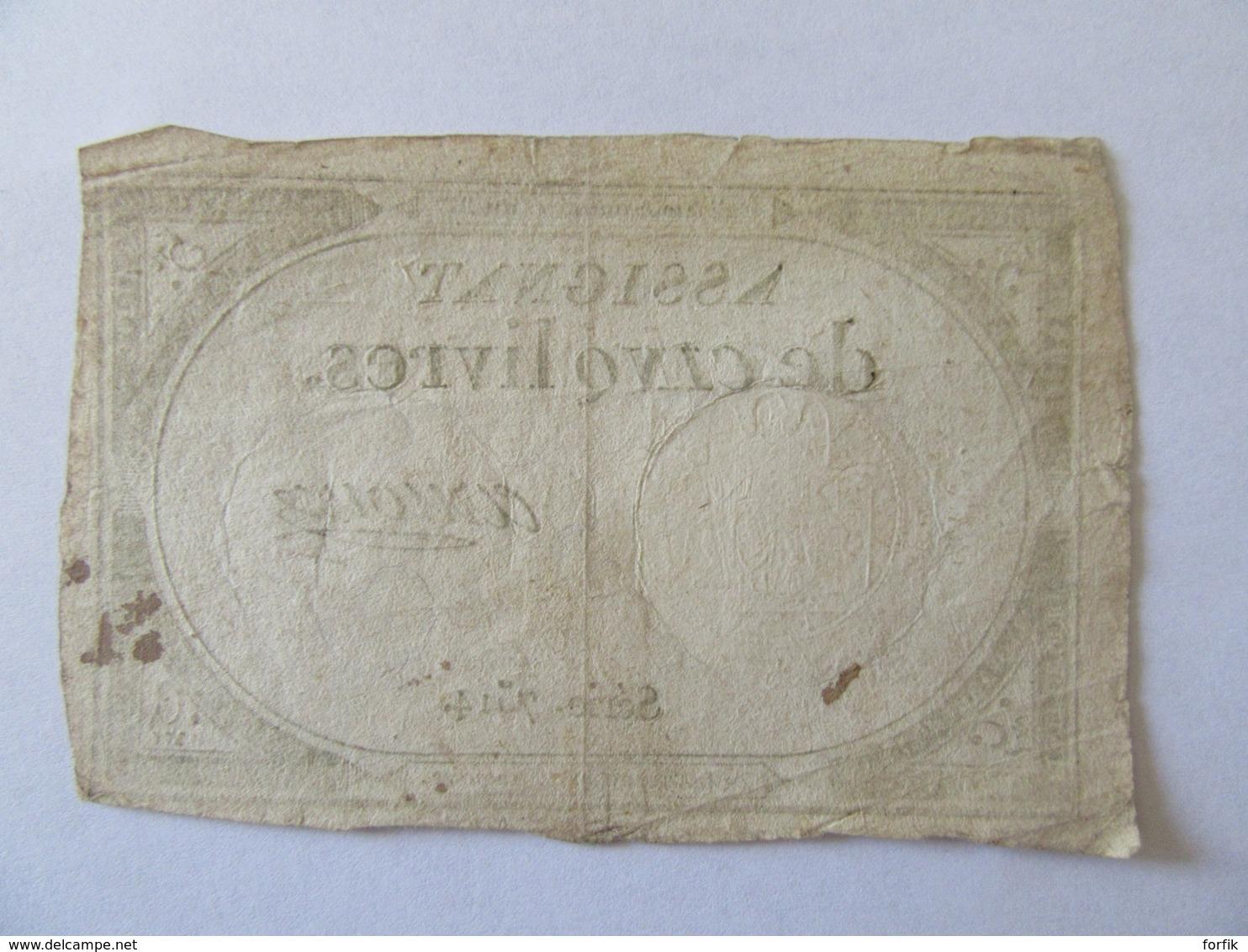 France - Assignat De 5 Livres - Série 7514 - Signature Arnoux - Vers 1792 - Assignats