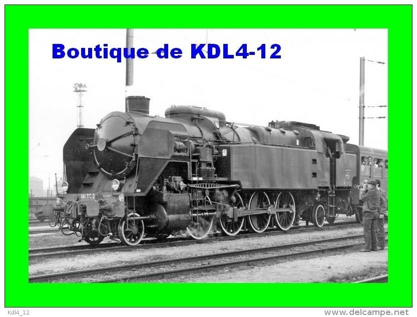 AL 497 - Train - Loco 141 TC 2 En Gare - NOISY LE SEC - Seine Saint-Denis - SNCF - Noisy Le Sec