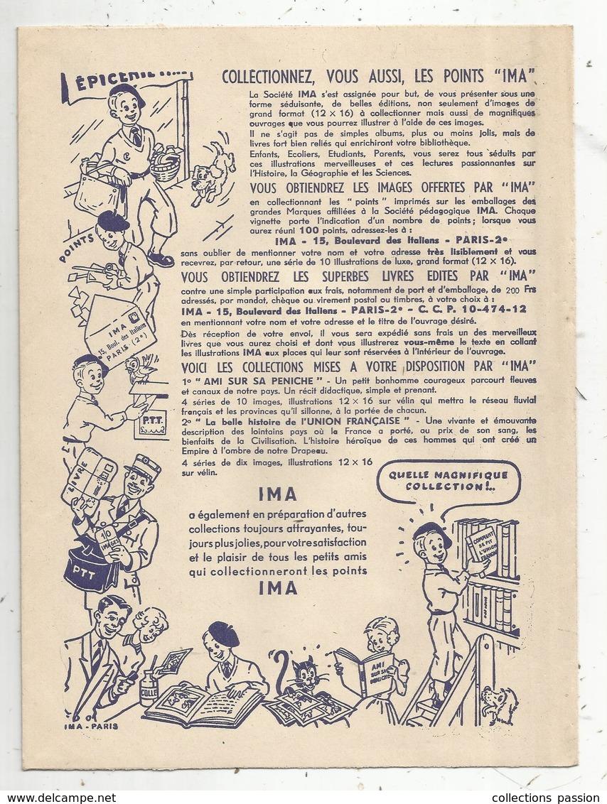 Protége Cahier ,points IMA , 2 Scans ,frais Fr 1.75 E - Protège-cahiers