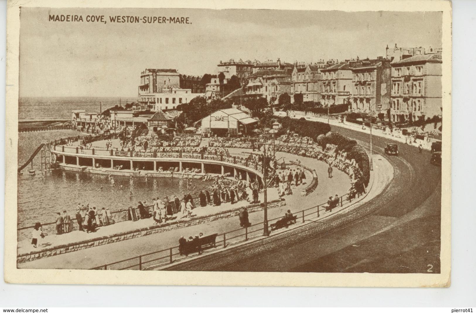 ROYAUME UNI - ENGLAND - WESTON SUPER MARE - Madeira Cove - Weston-Super-Mare