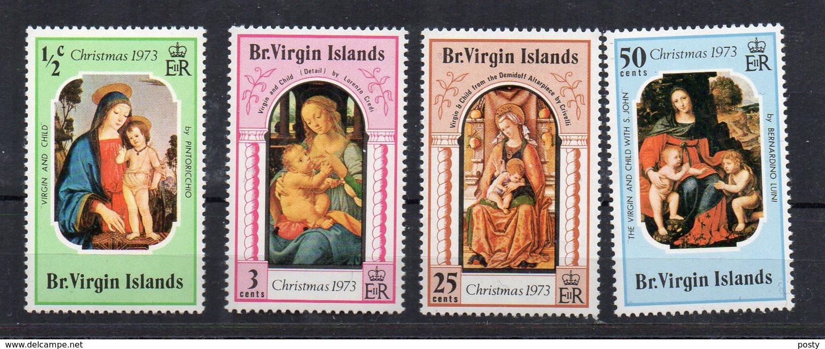 ILES VIERGES BRITANNIQUES - BRITISH VIRGIN ISLANDS - 1973 - CHRISTMAS - NOEL - - Iles Vièrges Britanniques
