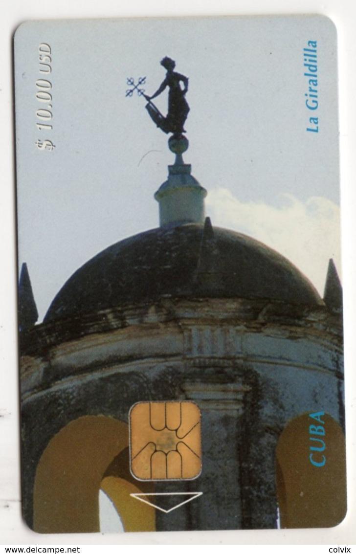 CUBA REF MV CARDS CUB-16  Année 1998 La Giraldilla La Havane - Cuba