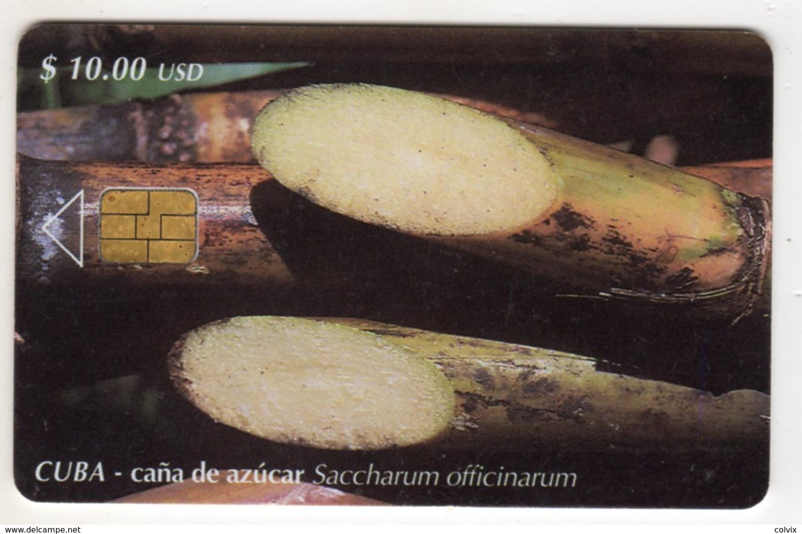 CUBA CANA DE AZURCA 10$ - Cuba