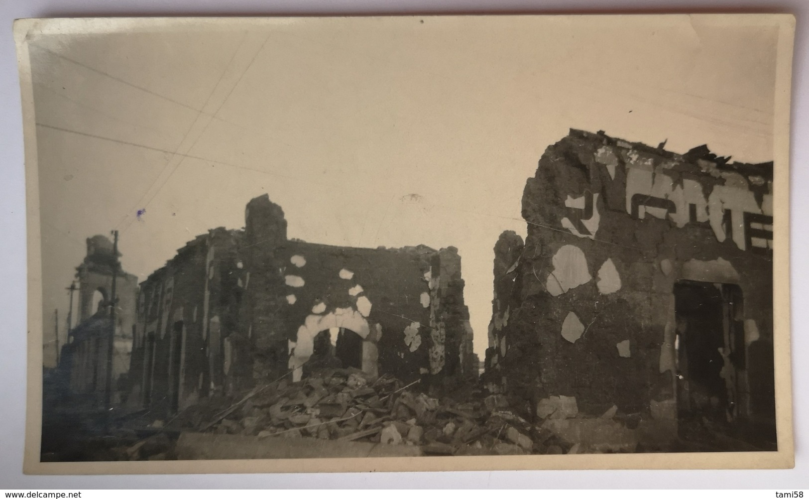 AK AMERICA GUATEMALA MANAGUA EARTHQUAKE 1931 - Guatemala
