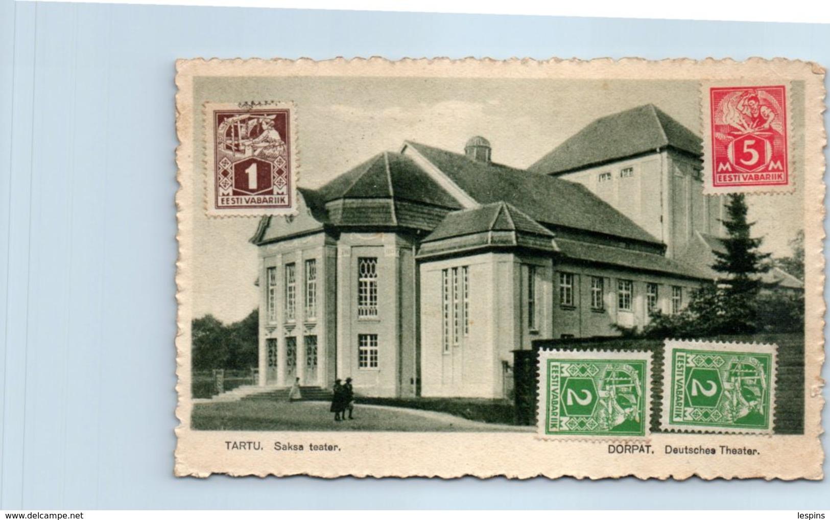 EUROPE --  LETTONIE - Tartu - Lettonie