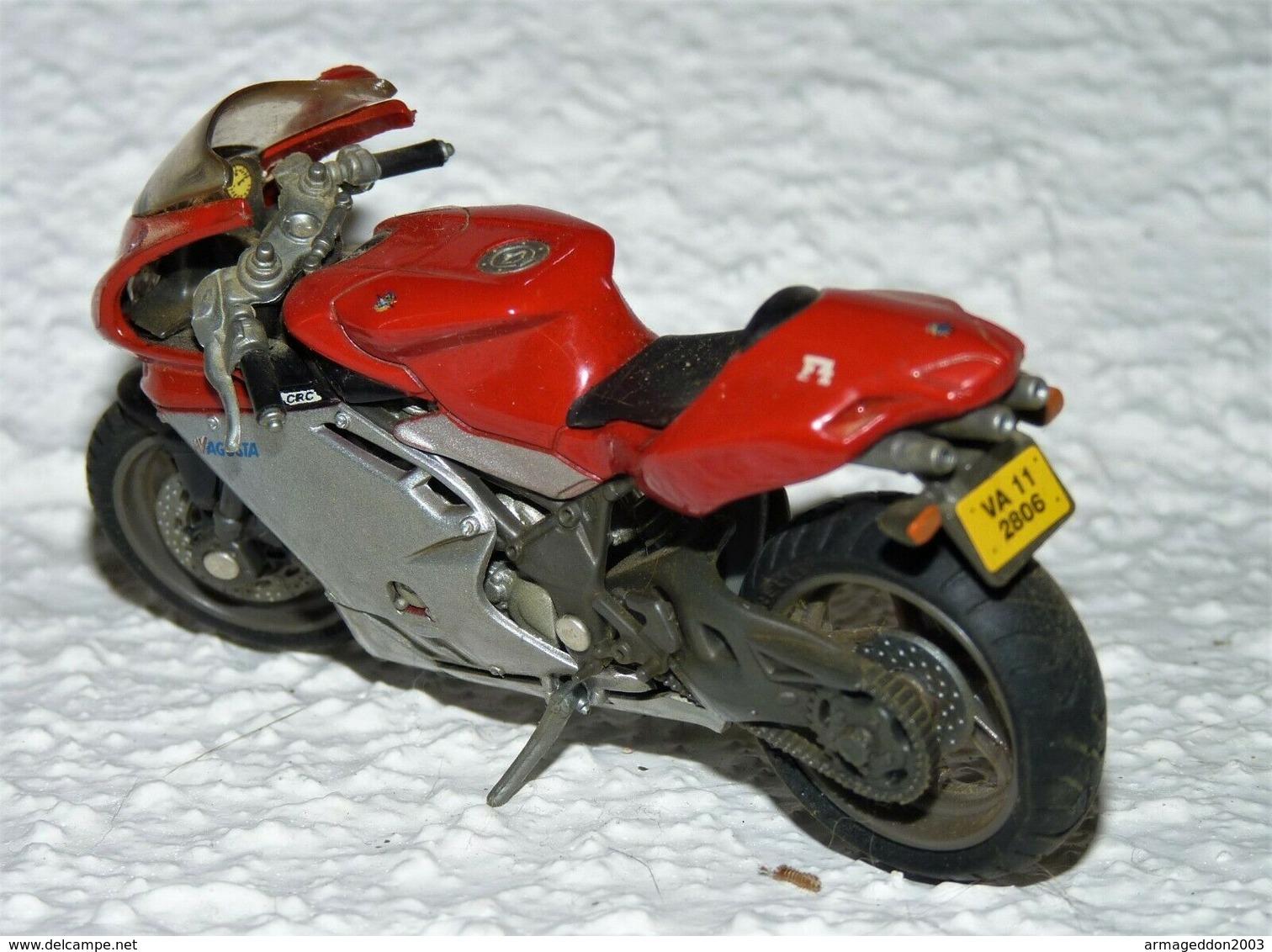 MAISTO MOTO 1/18 MV AGUSTA F4 TBE - Motos
