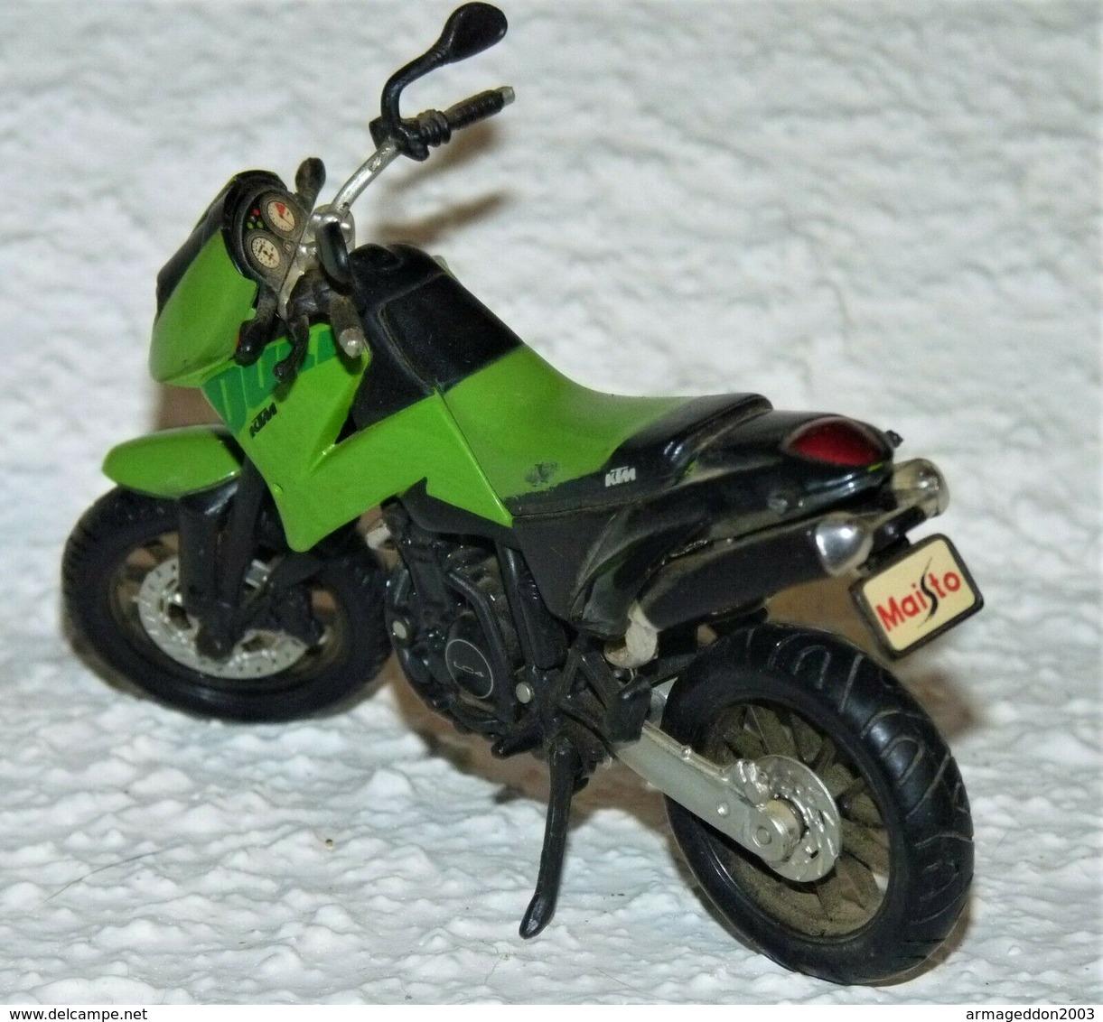 MAISTO MOTOCROSS 1/18 DUKE KTM TBE - Motos