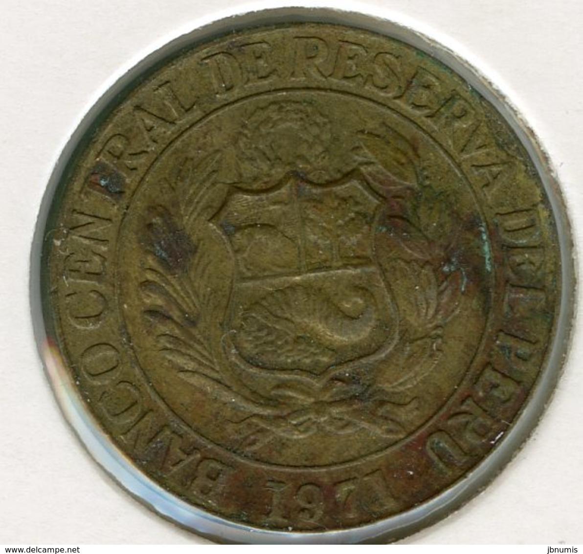 Pérou Peru 25 Centavos 1971 KM 246.2 - Pérou
