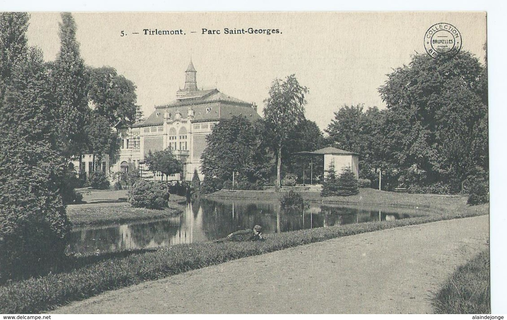 Tienen - Tirlemont - 5 - Parc Saint-Georges - Collection Bertels - Tienen