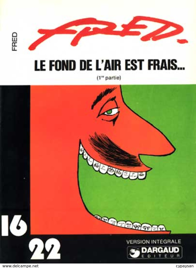 FOND DE L'AIR EST FRAIS EO BE 16/22 06-1978 FRED - Jonathan Cartland