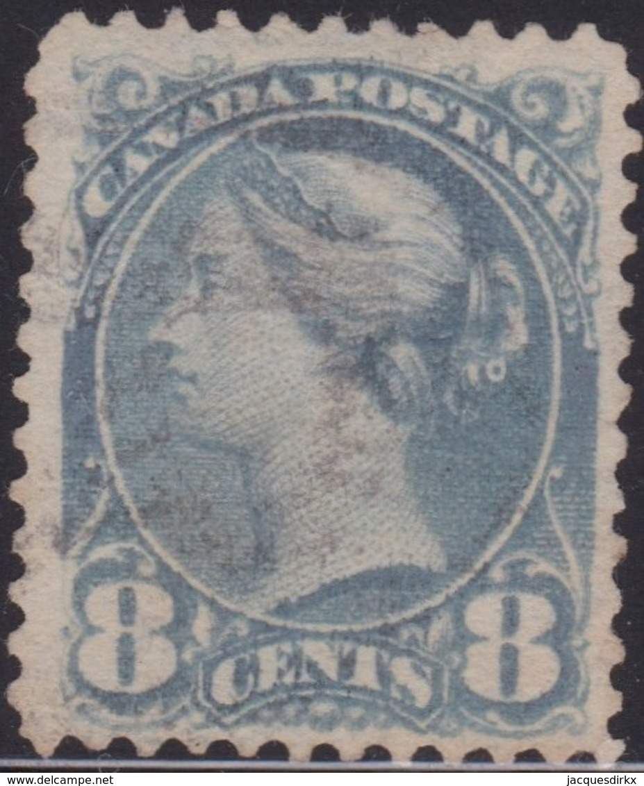 Canada        .     SG    .    117      .     O    .   Cancelled   .   /    .     Gebruikt - 1851-1902 Regering Van Victoria