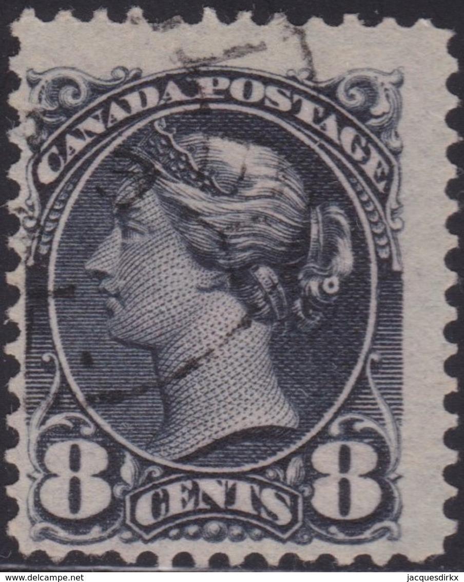 Canada        .     SG    .    120       .     O    .   Cancelled   .   /    .     Gebruikt - 1851-1902 Regering Van Victoria