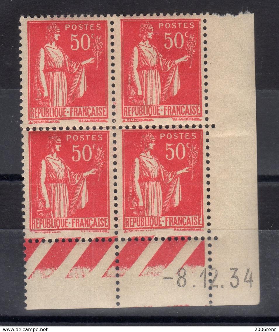 FRANCE COIN DATE N° 283 (1934) ** NEUF. VOIR - Neufs