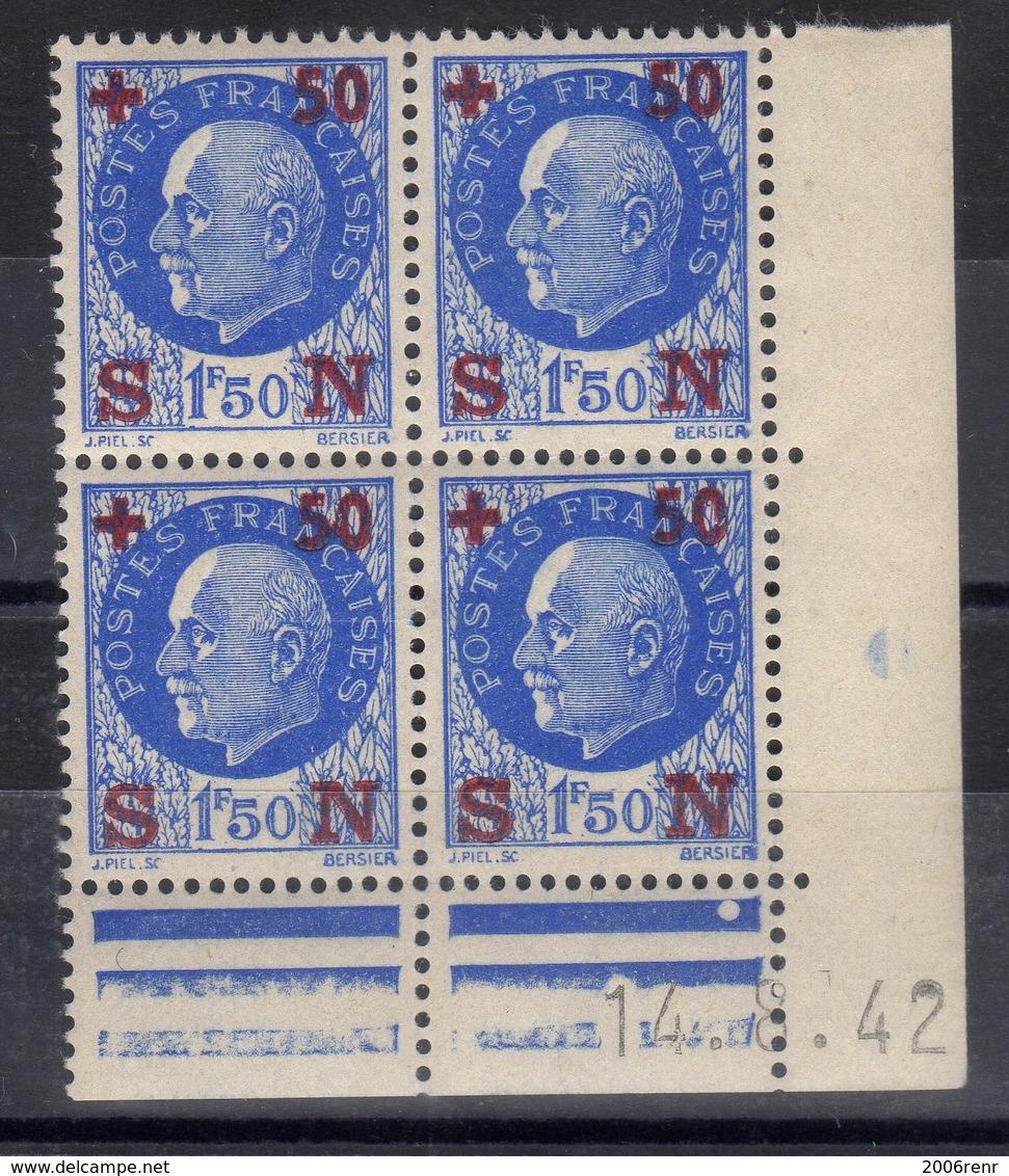 FRANCE COIN DATE N° 552 (1942) ** NEUF. VOIR - Frankreich