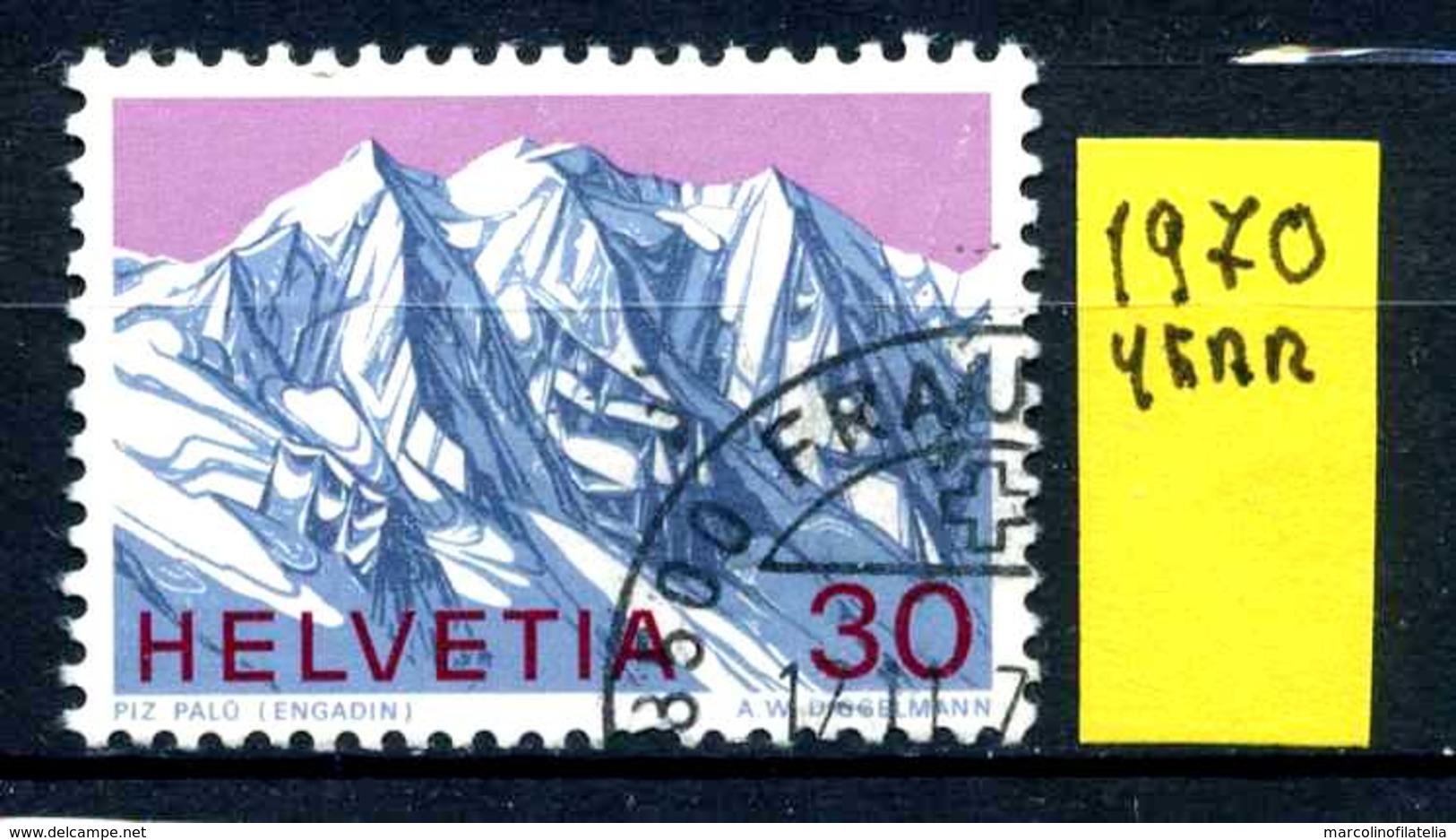 SVIZZERA - HELVETIA - Year 1970 - Usato - Used - Utilisè - Gebraucht.. - Usati