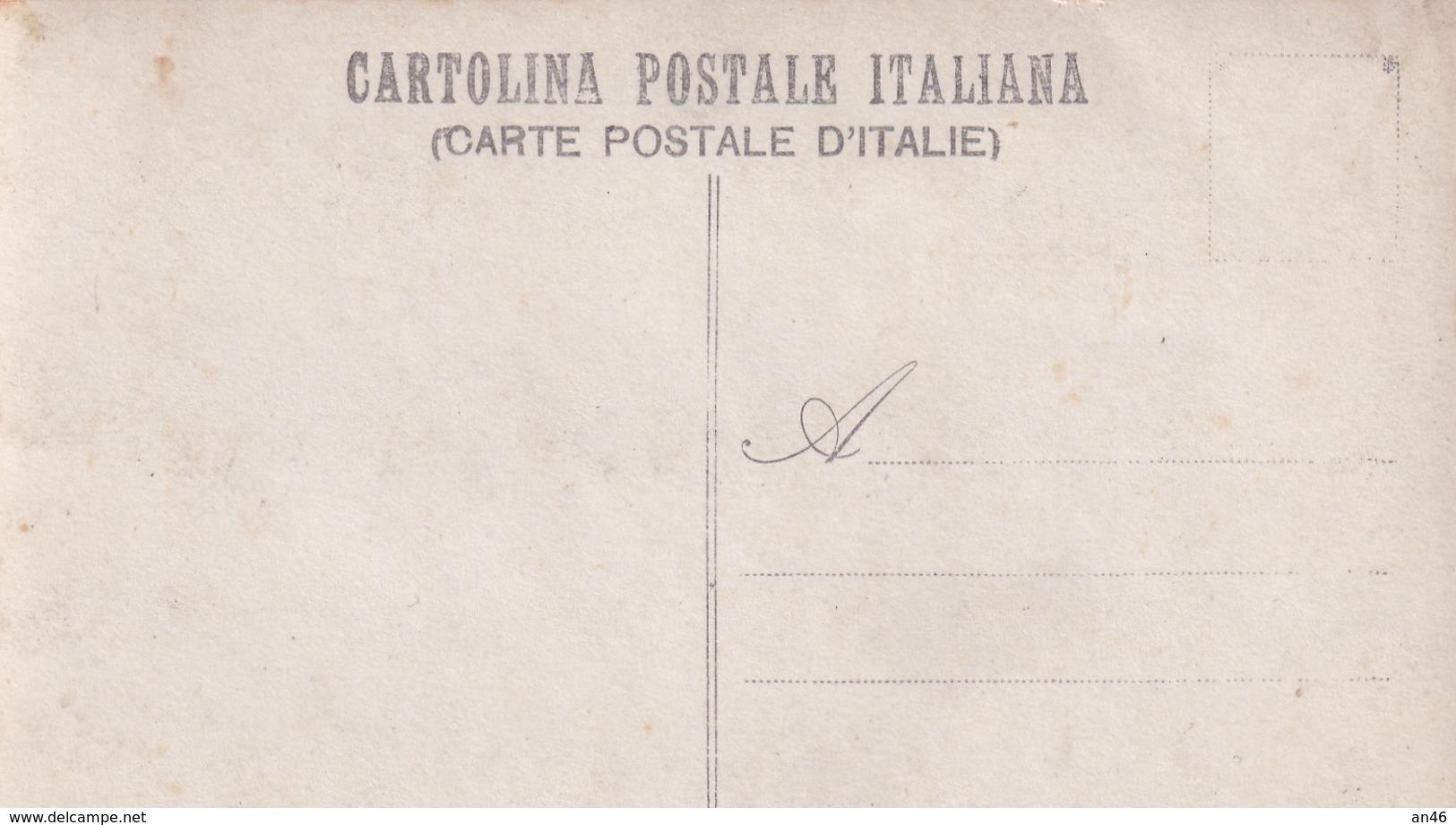 Fotocartolina Commando Del Corpo D'occupazione In Attesa Dell'arrivo Del Ministro Bertolini_Carabinieri-Originale100%an2 - Fotografía