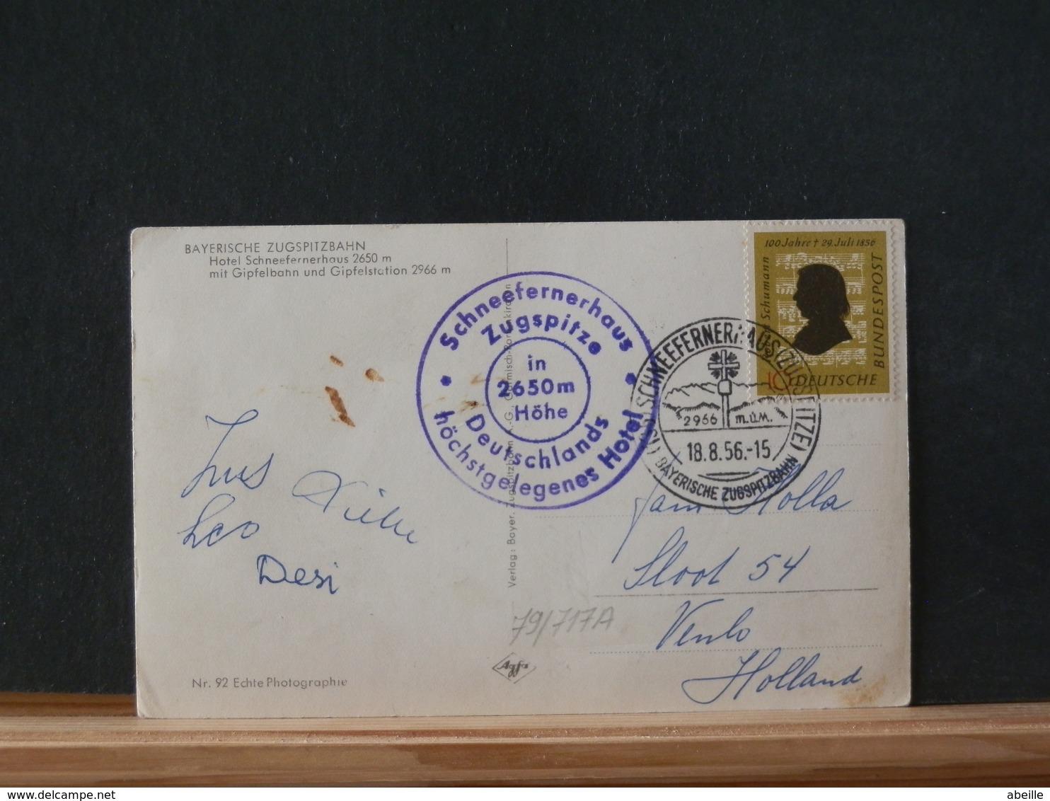 79/717A  LETTRE   1956 - Briefe U. Dokumente