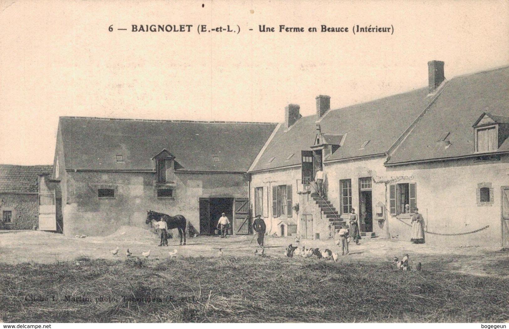 28 6 BAIGNOLET Une Ferme En Beauce - France