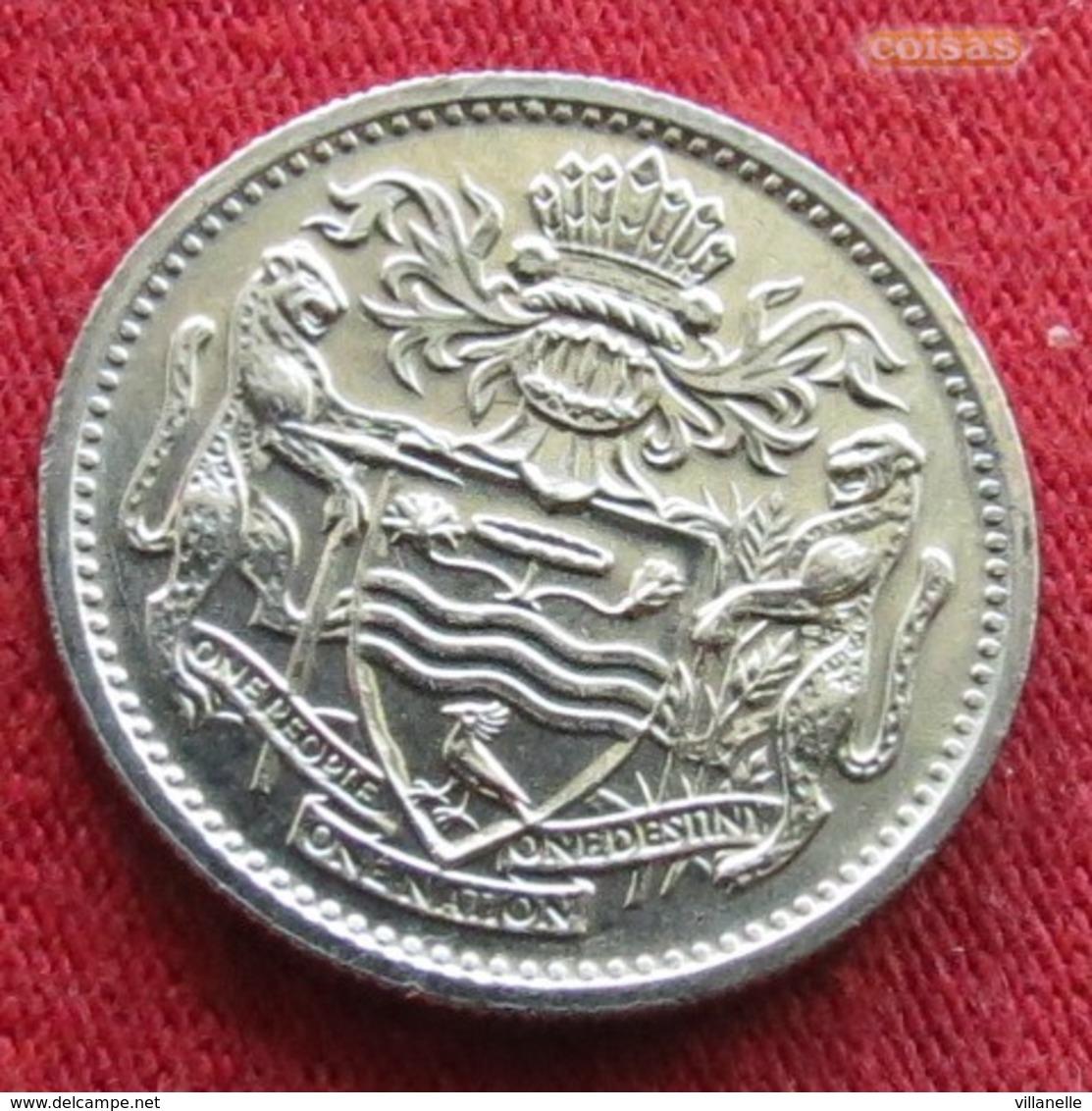Guyana 10 Cents 1991 KM# 33 Guiana - Guyana