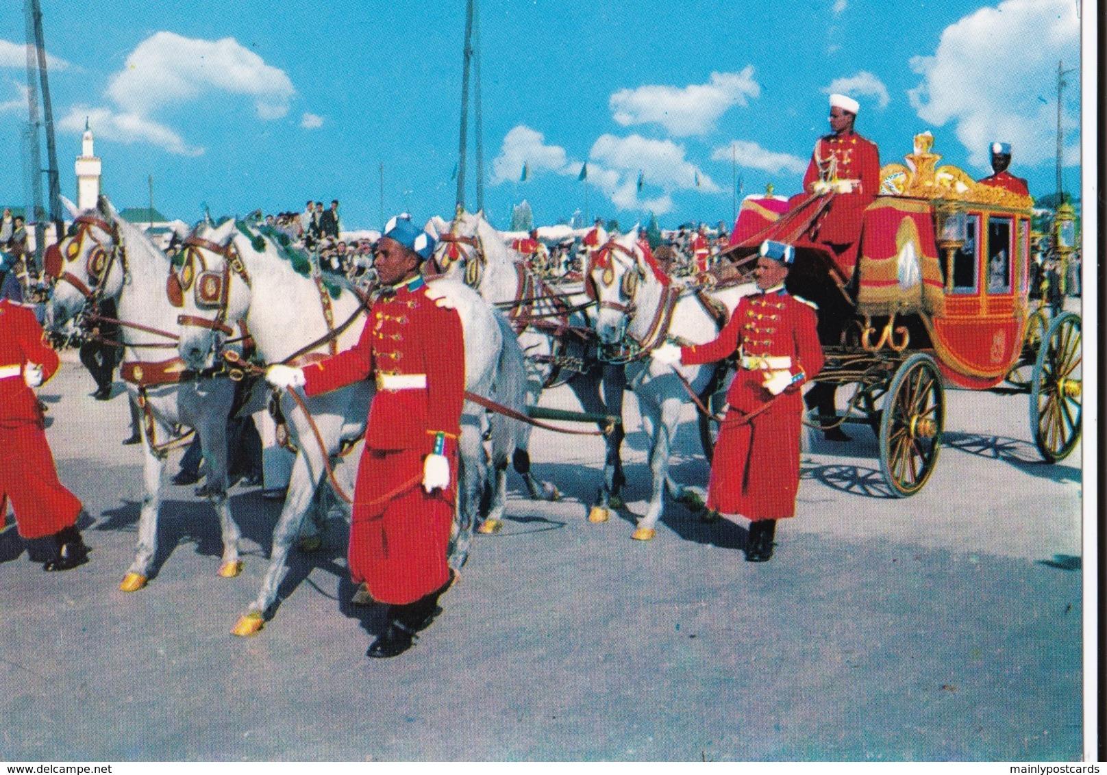 AN10 Morocco, Rabat, Carosse Royal - Rabat