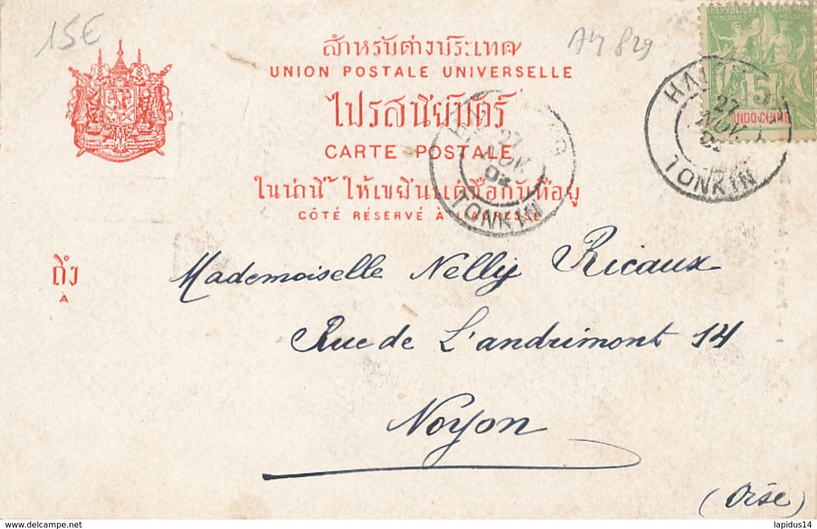 AM 829  / C P A  -VIET NAM - THAILLANDE   H. M.  QUEEN OF SIAM - Thaïlande