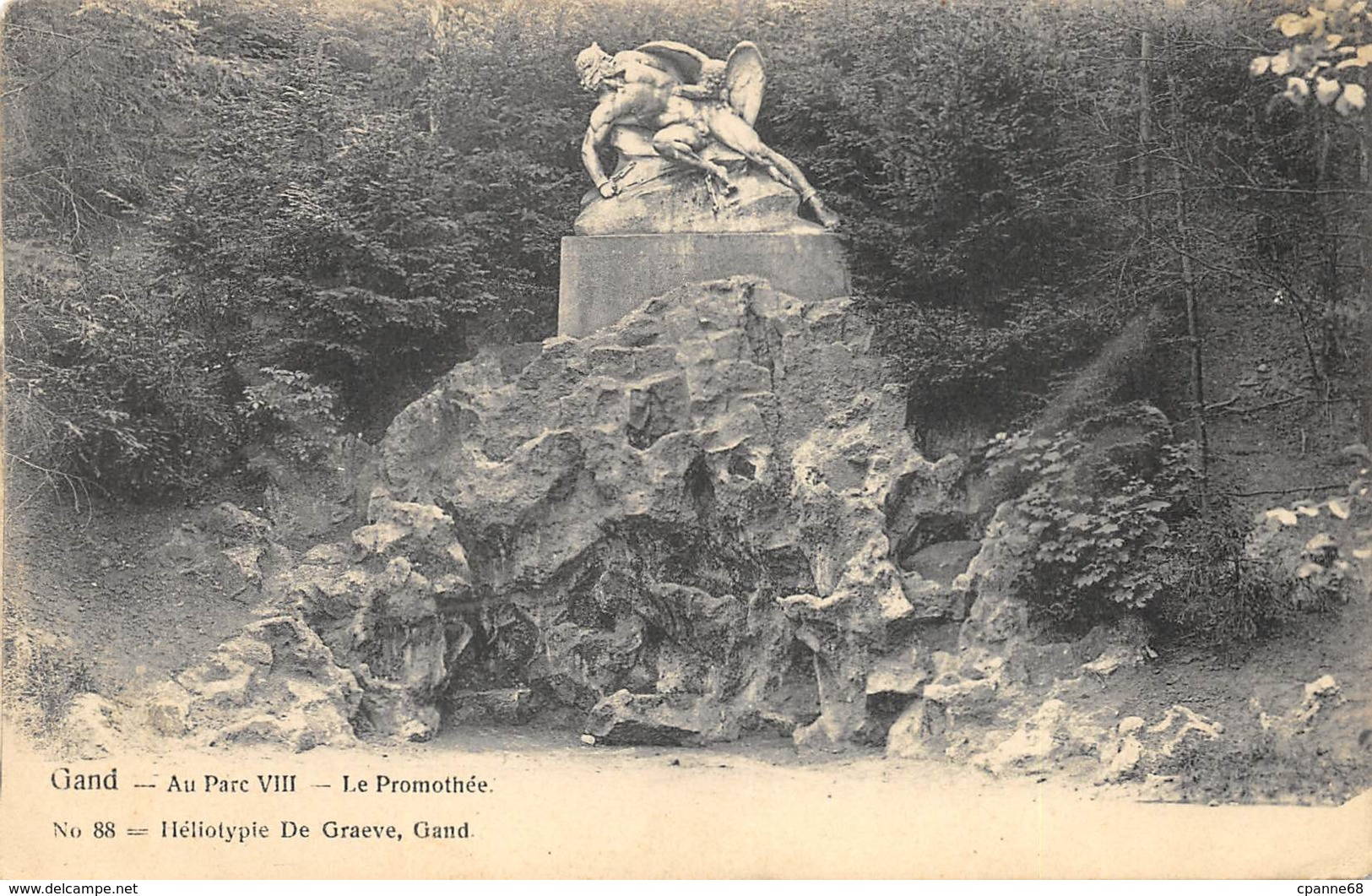 Gand - 1905 - Au Parc VIII - Le Promothée - De Graeve N° 88 - Gent