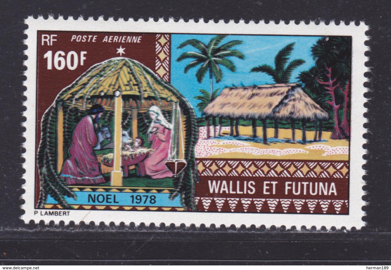 WALLIS ET FUTUNA AERIENS N°   85 ** MNH Neuf Sans Charnière, TB  (D8781) Noël 1978 - Aéreo