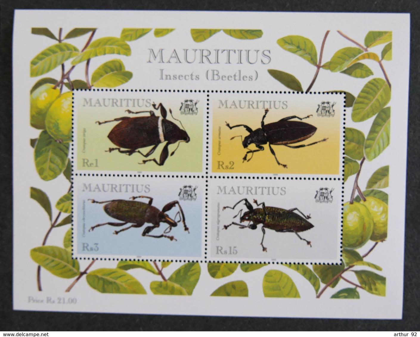 ILE MAURICE - MAURITIUS - 2000 - YT BF 22 ** - INSECTES - Mauritius (1968-...)