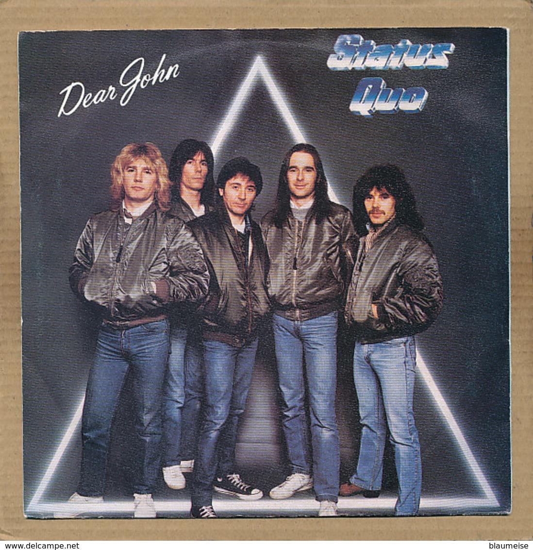 """7"""" Single, Status Quo, Dear John - Rock"""