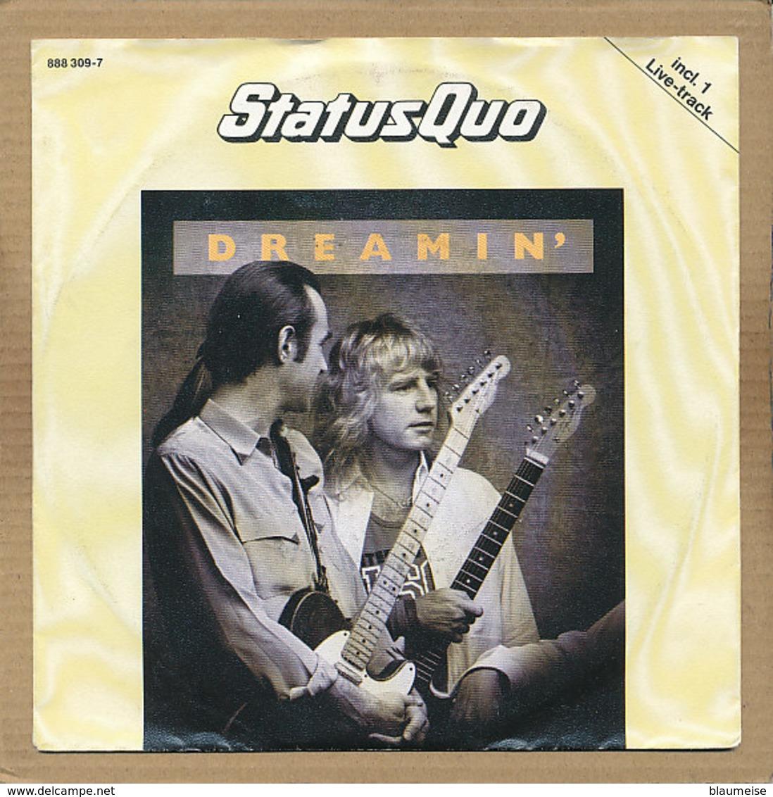 "7"" Single, Status Quo, Dreamin - Rock"
