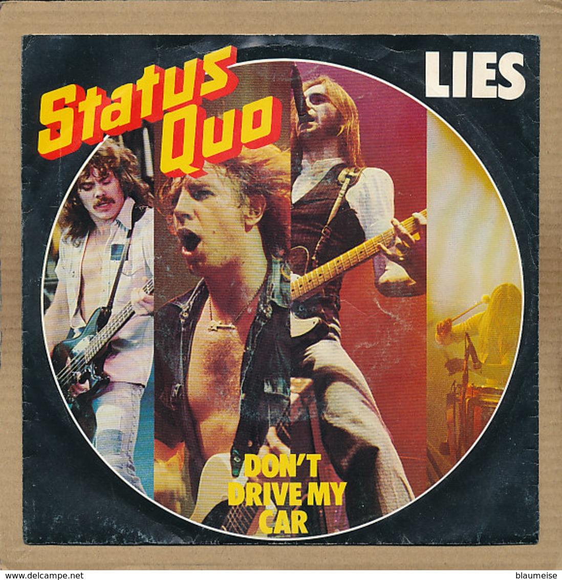 "7"" Single, Status Quo, Lies - Rock"