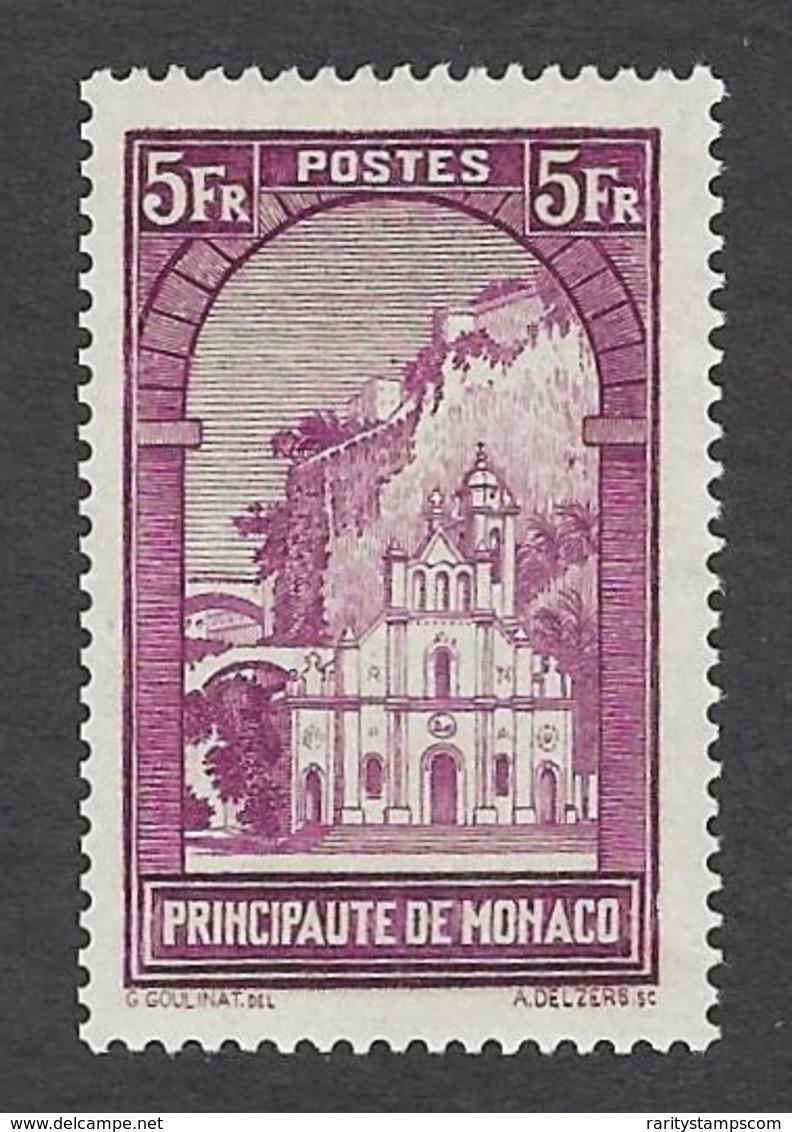 MONACO 1933 PAYSAGED DE LA PRINCIPATE 5fr Nº 132 - Neufs