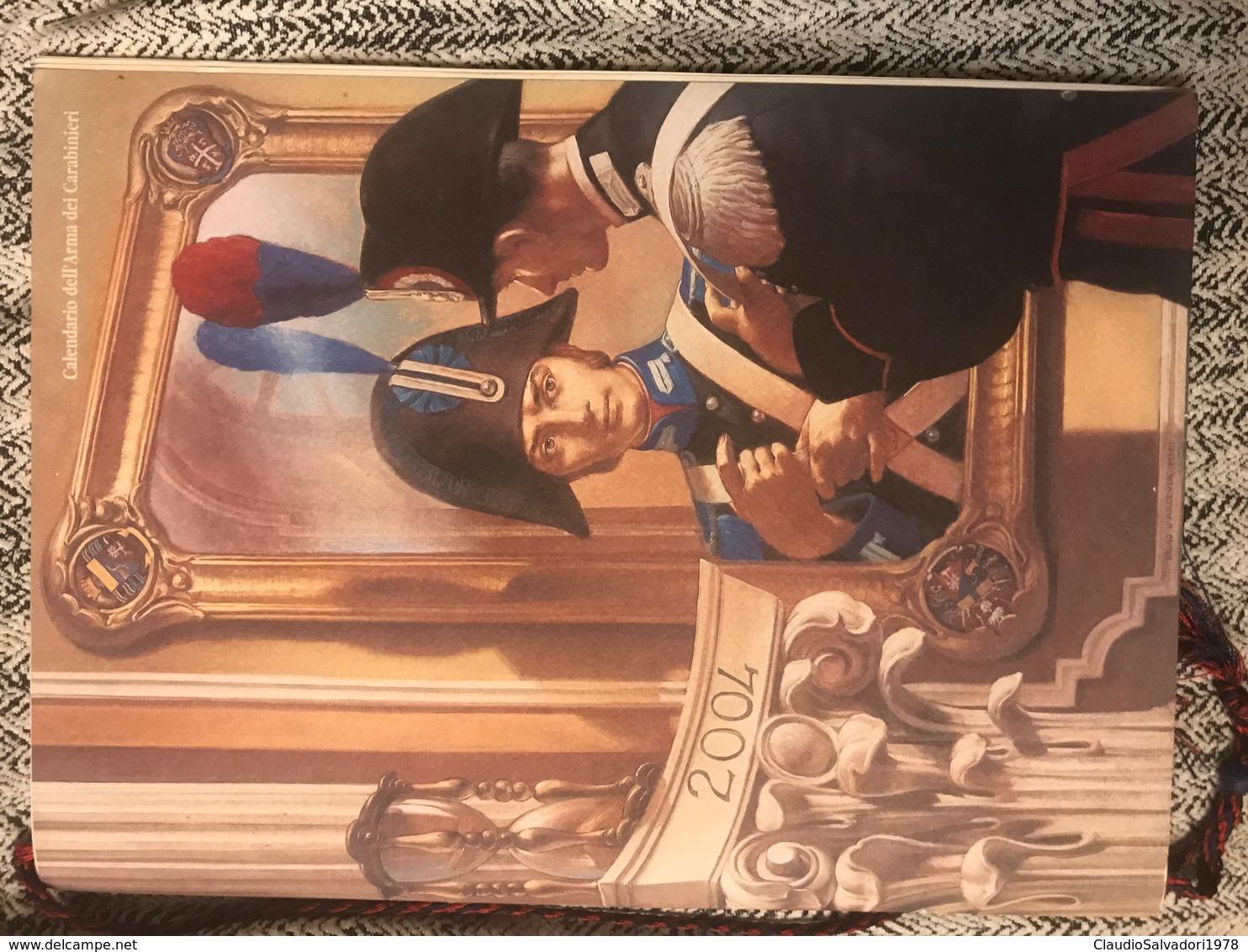 2004 Calendario Storico Arma Dei Carabinieri - Calendari