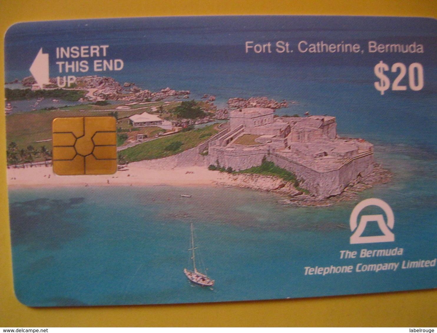 """Télécarte Des Bermudes """"amerique Du Nord"""" - Altri – America"""