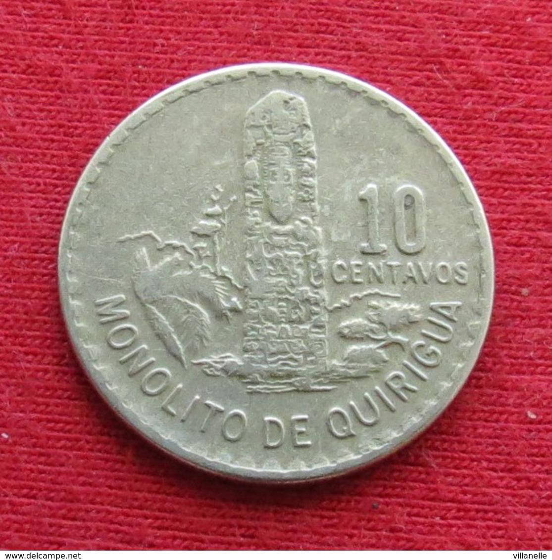 Guatemala 10 Centavos 1971 KM# 271 - Guatemala