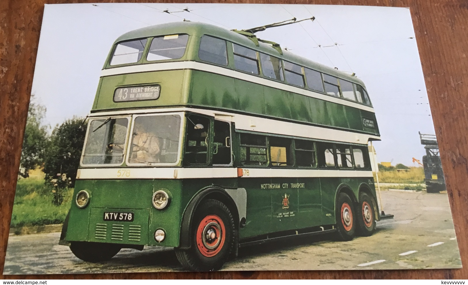 Nottingham 578 ~ Brush H70R Body On B.U.T. 9641T Chassis - Buses & Coaches