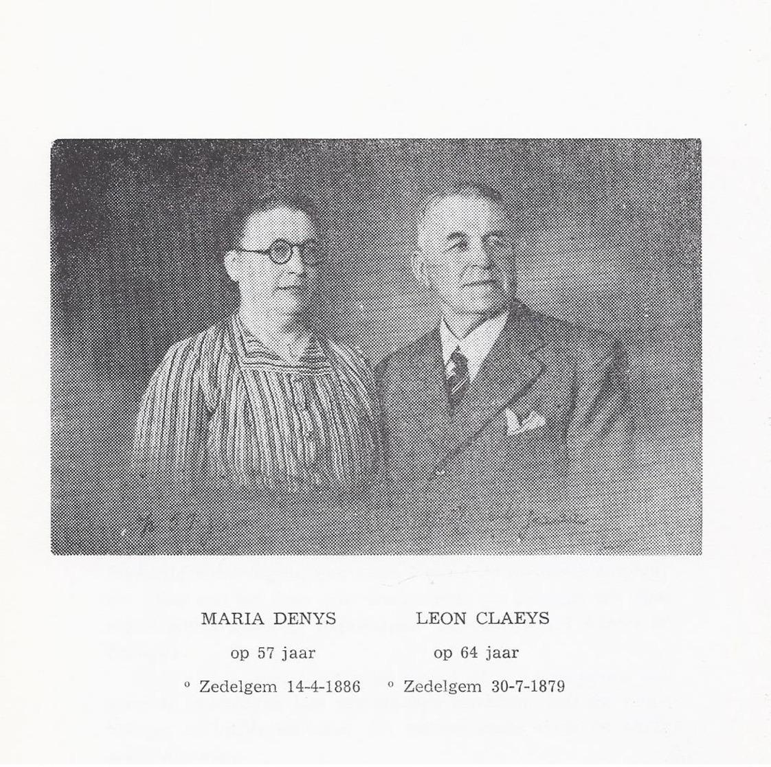 ZELDZAAM ZEDELGEM 1960 WERKLUST EN WELSTAND GESCHIEDENIS DER ZEDELGEMSE NIJVERHEID EN HAAR PIONIER LEON CLAEYS DENYS GET - Histoire