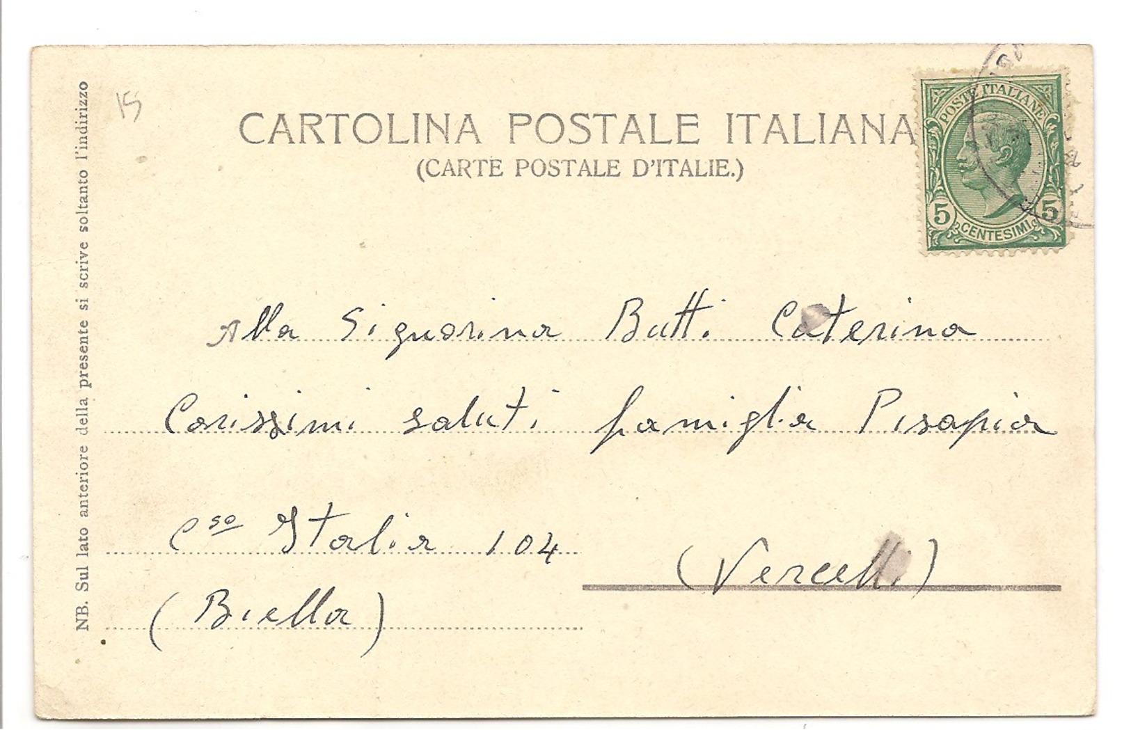 PROVINCIA DI BOLOGNA - COMUNE DI MONZUNO - 4 SETTEMBRE 1904 - FESTA - Bologna