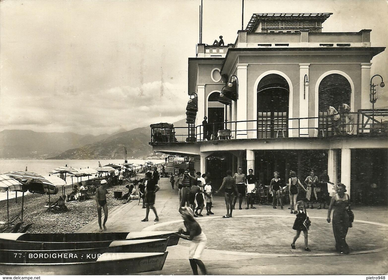 Bordighera (Imperia) Kursaal E Spiaggia, Animata - Imperia