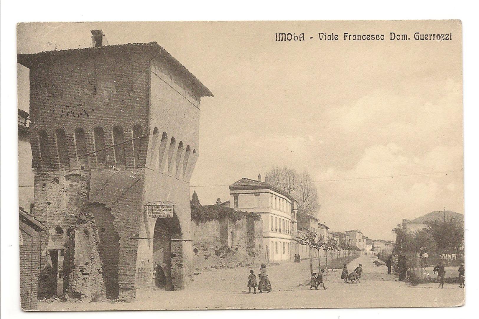 IMOLA - VIALE FRANCESCO DOM. GUERRAZZI - Imola